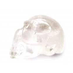 Kristallschädel Bergkristall 4 cm