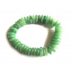 Scheiben-Armband Aventurinquarz grün
