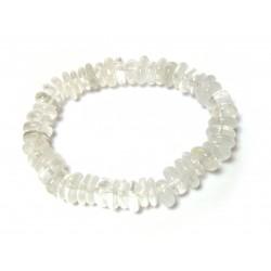 Scheiben-Armband Bergkristall