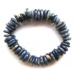 Scheiben-Armband Sodalith