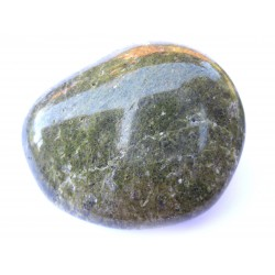 Trommelstein Epidot-Quarz-Fels 100 g
