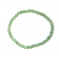 Kugel-Armband Aventurinquarz grün 4 mm