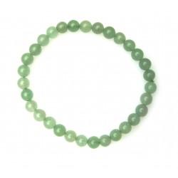 Kugel-Armband Aventurinquarz grün 6 mm