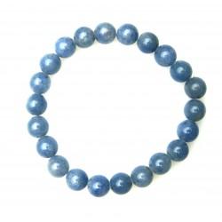 Kugel-Armband Blauquarz 8 mm