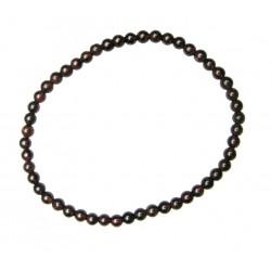 Kugel-Armband Granat 4 mm