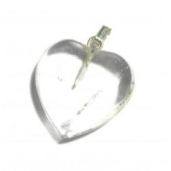 Herz 20 mm Bergkristall