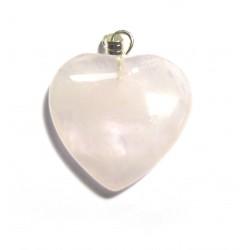 Herz 20 mm Rosenquarz