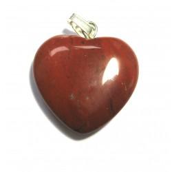 Herz 20 mm Jaspis rot