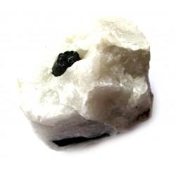 Turmalin schwarz in Quarz 7-10 cm Stück