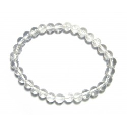 Kugel-Armband Bergkristall 6 mm