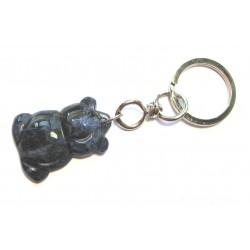 Schlüsselanhänger Teddy Sodalith