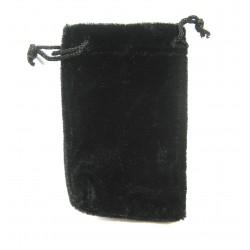 Samtbeutel 10x13,5 cm schwarz VE 50 Stück