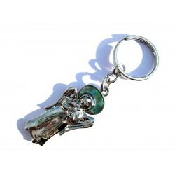 Schlüsselanhänger Schutzengel Pauamuschel