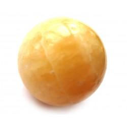 Kugel Calcit orange 2 cm