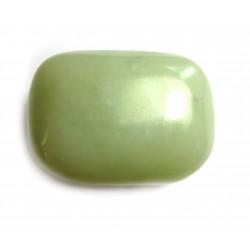 Trommelstein Serpentin grün 100 g
