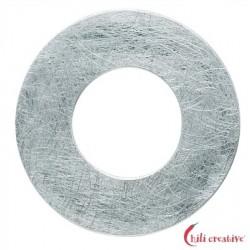 Varius-Kreis Silber matt 50 mm