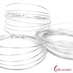 Draht 1,0 mm Silber VE 1,2 m