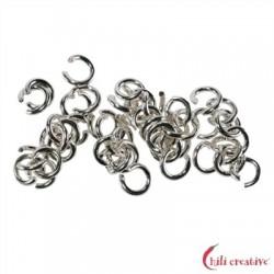 Biegering 5 mm Silber VE 50 Stück
