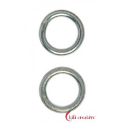 Bindering 12 mm Silber VE 4 Stück