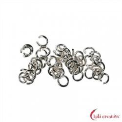 Biegering 6 mm Silber VE 360 Stück