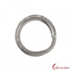 Spaltring 4 mm Silber VE 200 Stück