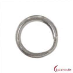 Spaltring 6 mm Silber VE 40 Stück