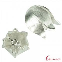 Endkappe Tulpe 18 mm Silber VE 2 Stück