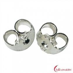 Ohrmutter Silber VE 12 Stück