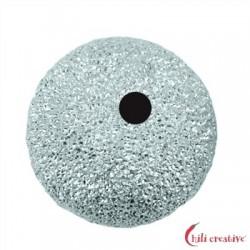 Kugel 6 mm Silber diamantiert VE 13 Stück