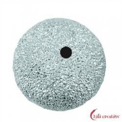 Kugel 10 mm Silber diamantiert VE 4 Stück