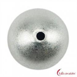 Kugel 14 mm Silber matt 1 Stück
