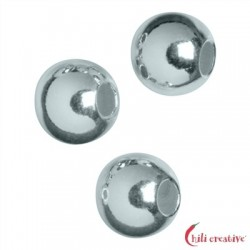 Kaschierkugel 4 mm Silber VE 52 Stück