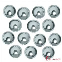 Kaschierkugel 5 mm Silber VE ca. 290 Stück