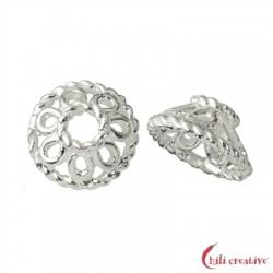 Halbschale Körbchen 8 mm Silber VE 10 Stück