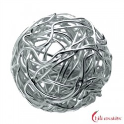 Draht-Kugel 12 mm Silber 1 Stück