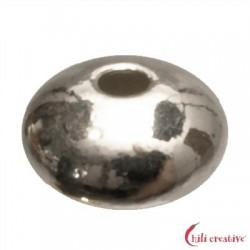 Linse 6 mm Silber VE 12 Stück