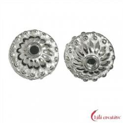 Orient-Linse 12 mm Silber VE 2 Stück