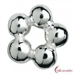 Kugelring 4 mm Silber VE 48 Stück