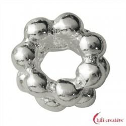 Kugelring doppelt 3,5 mm Silber VE 50 Stück