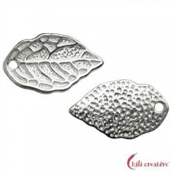Blatt 15 mm Silber VE 6 Stück