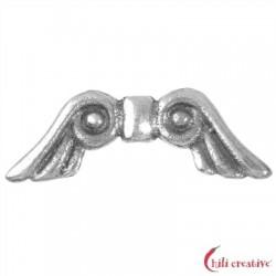 Flügel Märchen 18 mm Silber VE 4 Stück