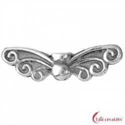 Flügel Elfe 22 mm Silber VE 4 Stück