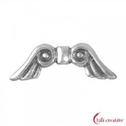 Flügel Märchen 15 mm (klein) Silber VE 4 Stück