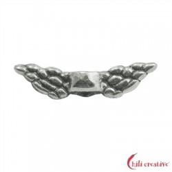 Flügel Engel 11 mm (mini) Silber VE 10 Stück