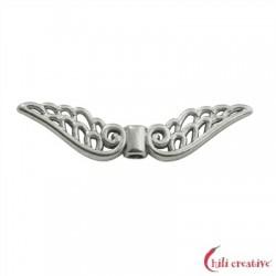 Flügel Baroque 30 mm Silber VE 4 Stück