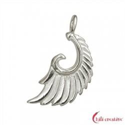 Flügel Aariel 21 mm Silber VE 2 Stück