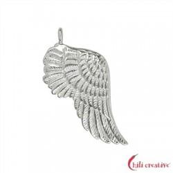 Flügel Gabriel 32 mm Silber VE 2 Stück