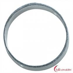 Rahmen rund 10 mm Silber VE 6 Stück