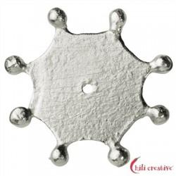 Kugelscheibe 16 mm Silber matt VE 5 Stück