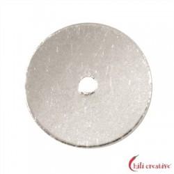 Scheibe 6 mm Silber VE 45 Stück